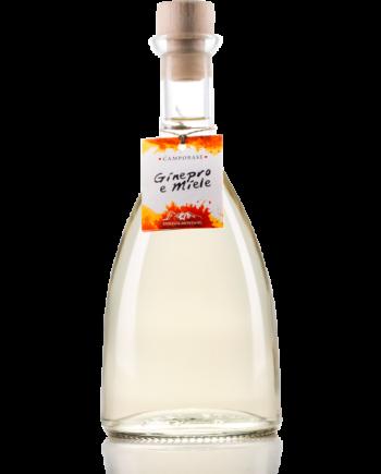 Liquore montano ottenuto dall'unione dell'essenza delle bacche di ginepro e dal pregiato miele di montagna.