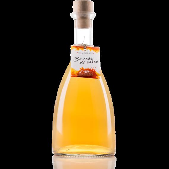 Innovativo liquore montano ottenuto dall'unione degli aromi del ginepro, pino mugo e altre bacche di bosco.